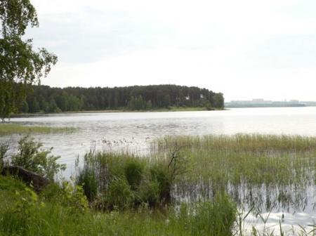 Памятник природы - озеро